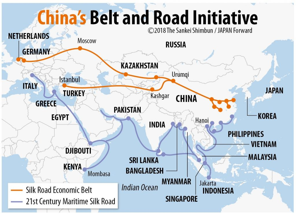Pandemic, China and the Future of the Belt Road Initiative