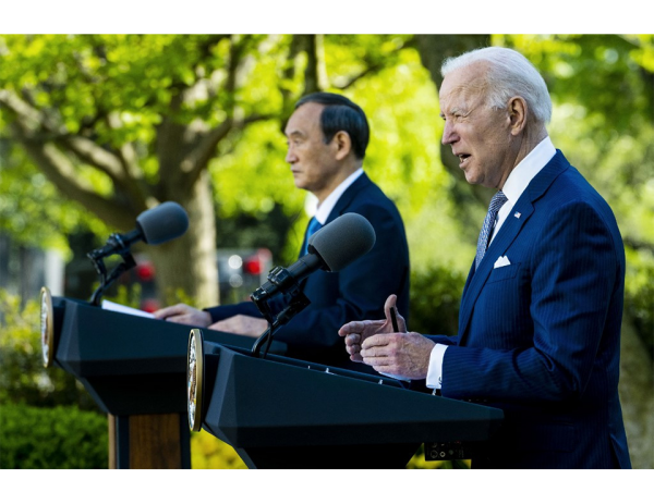 Recurring efforts: Biden - Suga summit